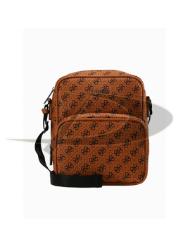Geanta crossbody Guess HM6605POL91 orange
